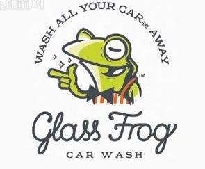logo设计 服务行业的青蛙