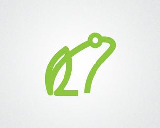青蛙logo设计欣赏