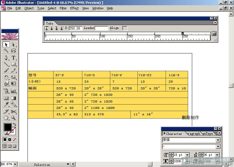 AI CS的强大文字排版功能介绍和教程