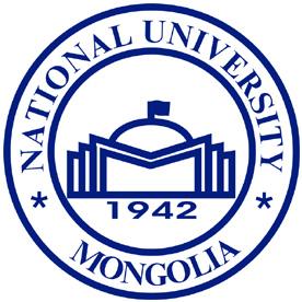 蒙古国立大学校徽欣赏标志设计欣赏
