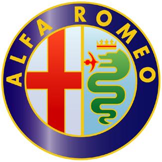 阿尔法罗密欧汽车标志设计欣赏