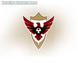 一些非常酷的足球俱乐部logo,标志设计欣赏图片