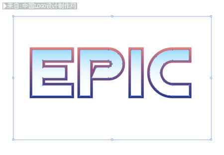 制作史诗金属文字效果 Photoshop教程 教程提升 中国logo制作网