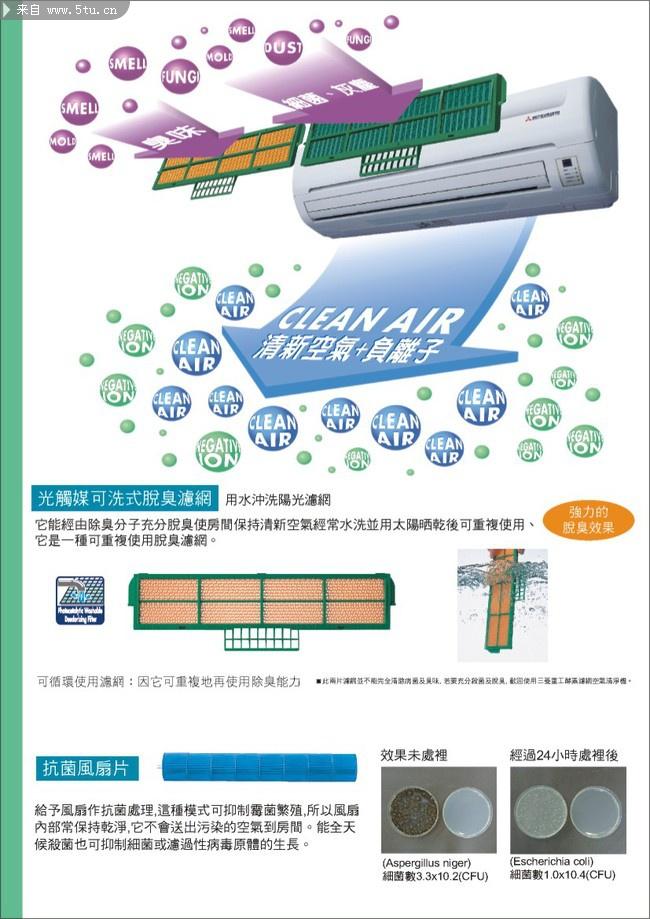 空气净化机宣传单页设计欣赏