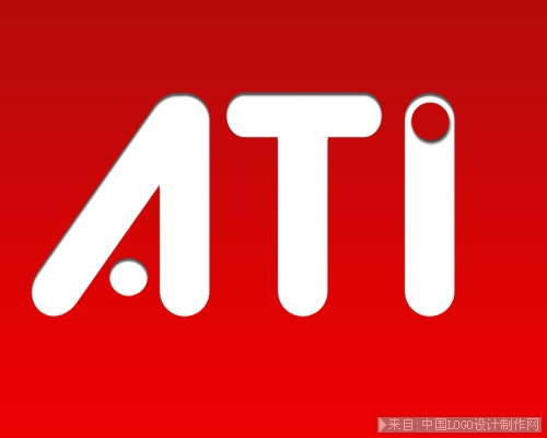 用photoshop重现ATI的标志设计教程