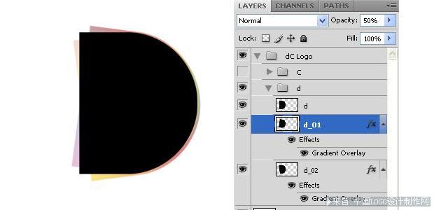 用ps制作水墨效果logo设计教程