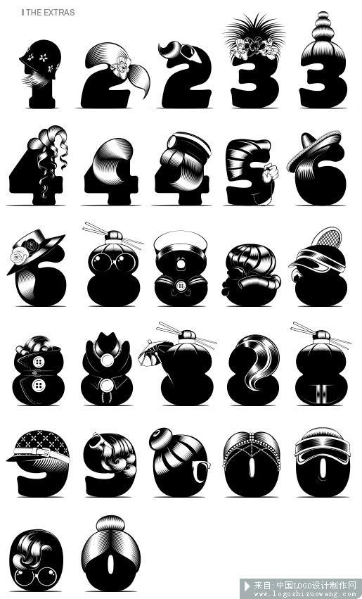 6日]【潮流,创意的英文字体设计】-来自字体设计欣赏版块