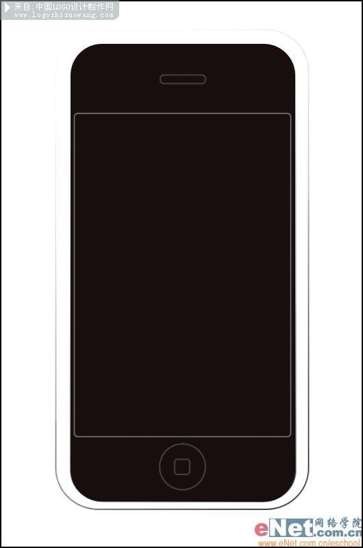 PS绘制苹果iPhone