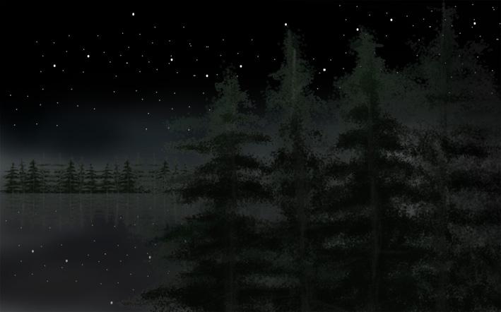 ps绘制 夜晚的天空 - ps技术交流区[复制链接]
