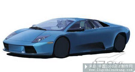 鼠绘教程:photoshop超级手绘:兰博基尼跑车